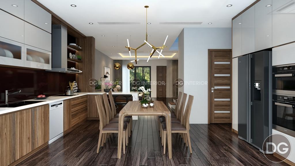 Thiết kế phòng bếp biệt thự Garmuda 2