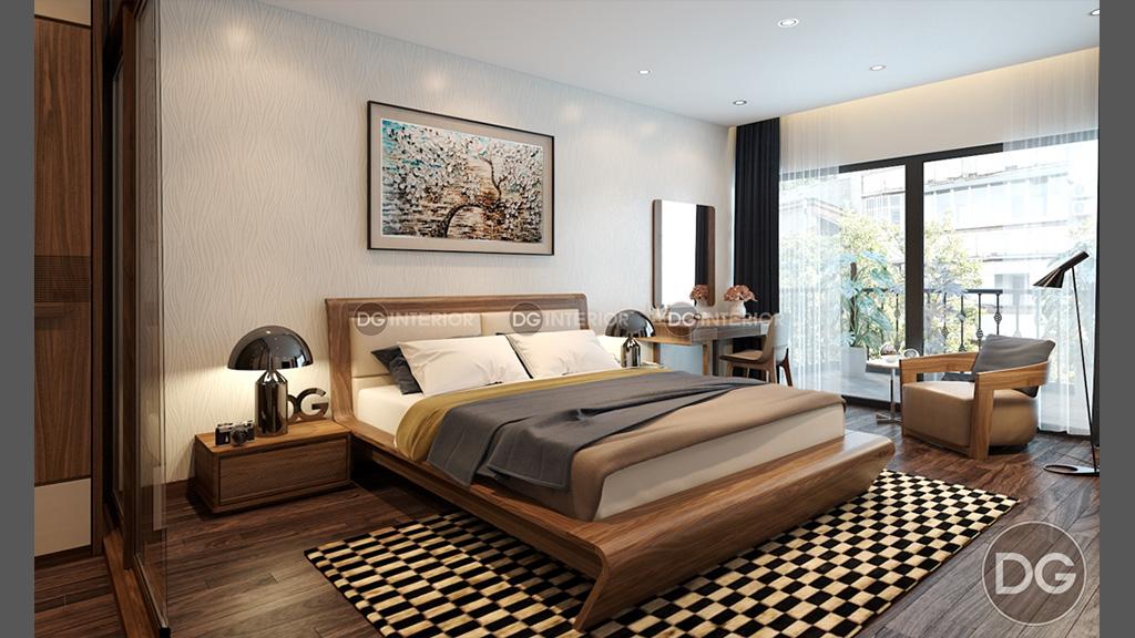 Thiết kế phòng ngủ biệt thự Garmuda