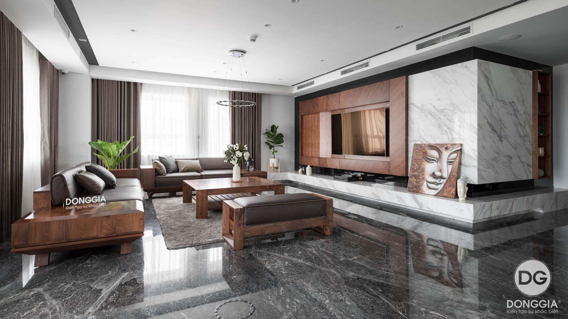 thi-cong-phong-khach-penthouse